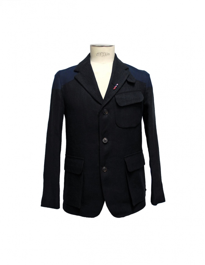 Giacca Nigel Cabourn Class Mallory JK1-BLK-NAVY giacche uomo online shopping
