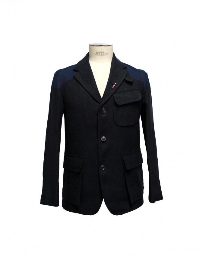 Nigel Cabourn Class Mallory jacket JK1-BLK-NAVY mens suit jackets online shopping