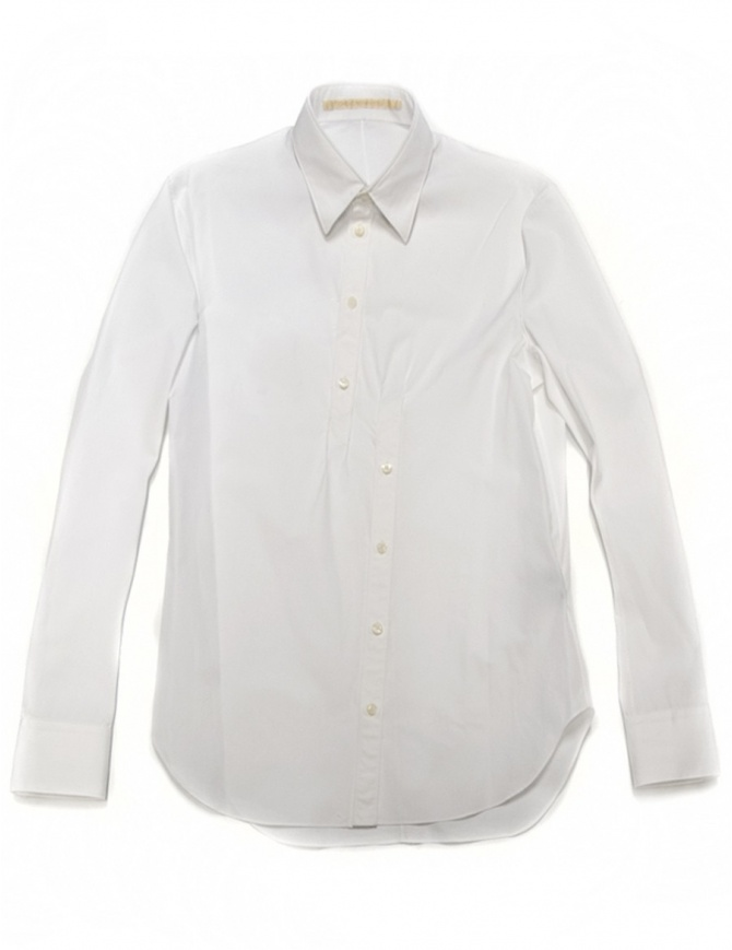 Camicia Carol Christian Poell colore bianco CM-2612-ROH- camicie uomo online shopping