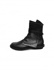 Trippen Rectangle black ankle boots