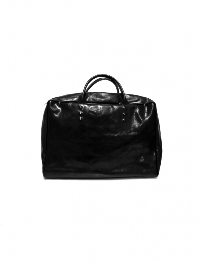 Delle Cose handbag in black horse leather 1001 HORSE BLK bags online shopping
