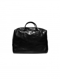Delle Cose handbag in black horse leather