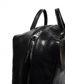 Delle Cose handbag in black horse leather price