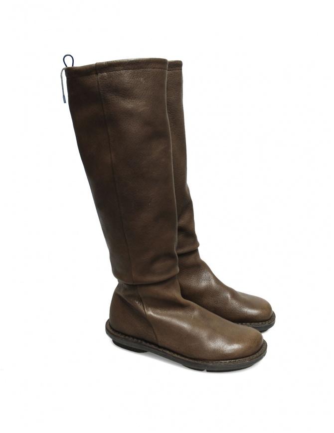Stivale Trippen Urban in pelle khaki URBAN KHAKI calzature donna online shopping