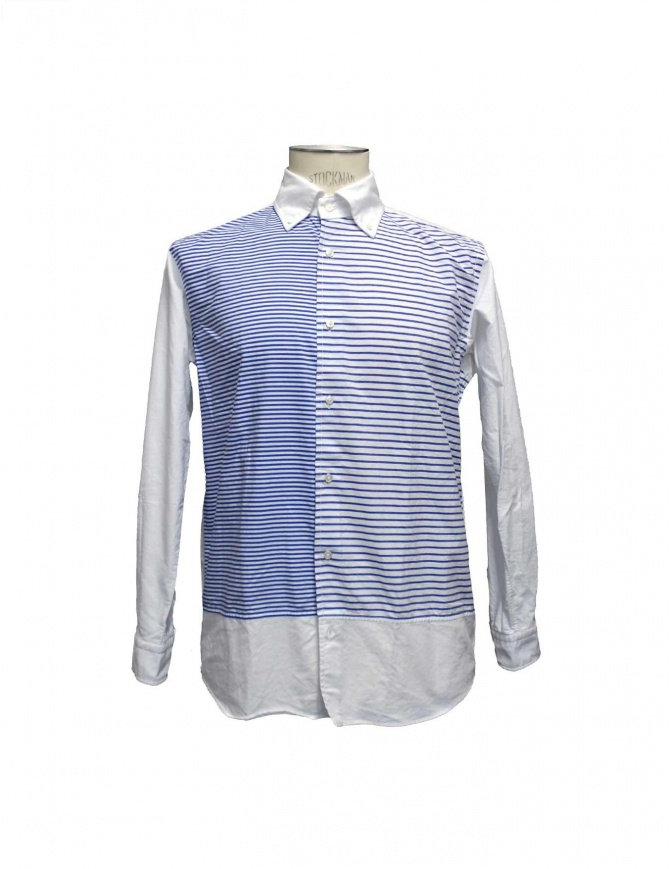 Camicia Morikage Shirt Kyoto a righe E-081022-8 camicie uomo online shopping