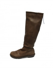 Khaki leather Trippen Urban boots buy online