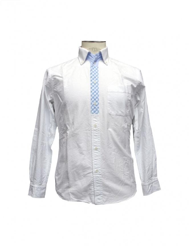 Morikage Shirt Kyoto shirt E-071028-1-W mens shirts online shopping