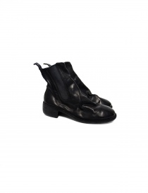 Black leather Guidi 76 boots 76-BLKT