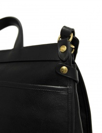 Il Bisonte Vincent black leather briefcase bags price