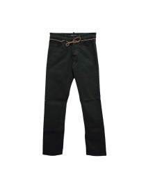 Homecore Alex Twill green pants with colored buttons online