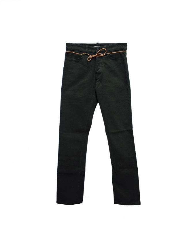 Pantalone Homecore Alex Twill verdi ALEX TWILL W14 DEEP GREEN pantaloni uomo online shopping