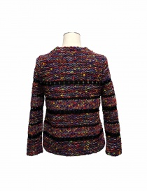Coohem purple and black pullover in Yonetomi fabric