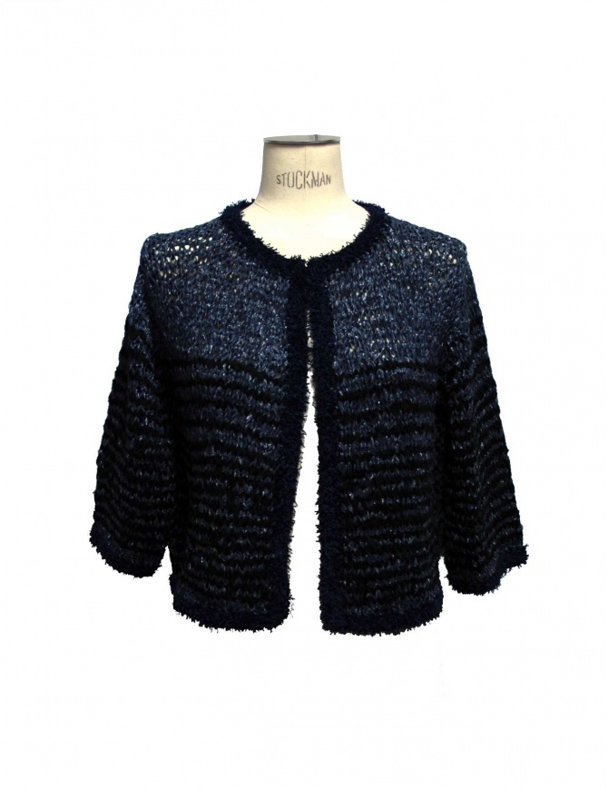 Iaponia black and navy pullover 15S05F-NAVY- womens knitwear online shopping