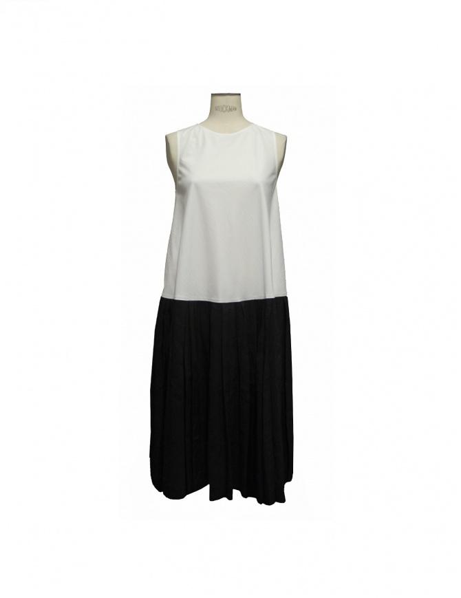 Abito Sara Lanzi colore bianco e nero DA2CO01-19-A abiti donna online shopping