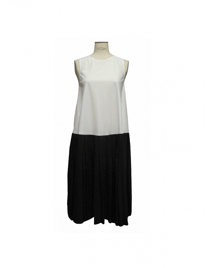 Sara Lanzi bicolored black and white dress DA2.CO01.19 A/2 womens dresses online shopping