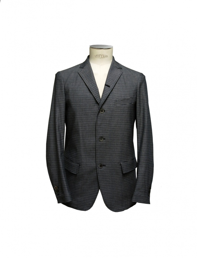 Giacca 08SIRCUS grigia a righe orizzontali JK05 52 giacche uomo online shopping