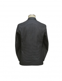 08SIRCUS gray horizontal stripes jacket