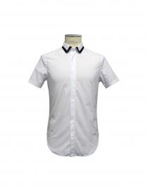 Camicia CY CHOI manica corta con collo in maglia online