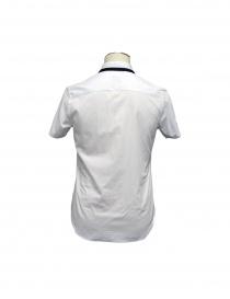Camicia CY CHOI manica corta con collo in maglia