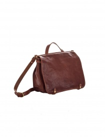 IL BISONTE VINCENT BROWN LEATHER BRIEFCASE price