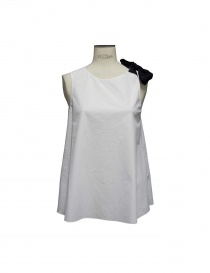 Canotte donna online: Top Sara Lanzi colore bianco