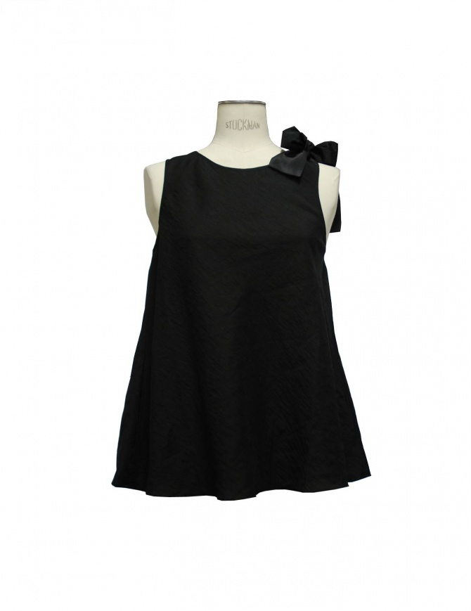 Top Sara Lanzi colore nero tb1.lp.9 b/1 canotte donna online shopping