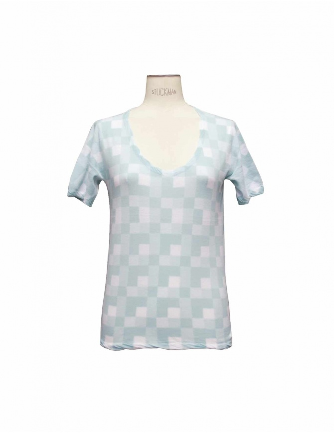 Maglia Side Slope L002 71P BLUE t shirt donna online shopping