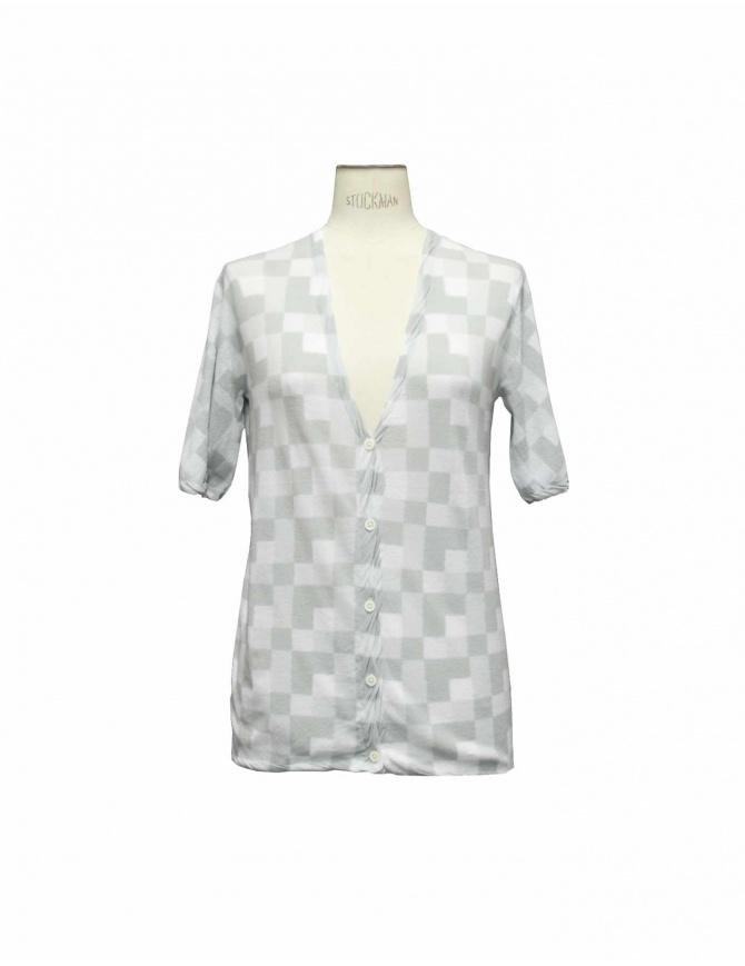 Side Slope gray cardigan L001 11LT GREY womens cardigans online shopping