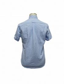 Camicia Gitman Bros a righe azzurre acquista online