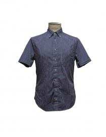 Gitman Bros blue checked shirt online