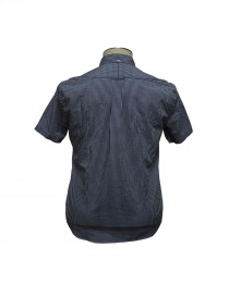 Gitman Bros blue chequed shirt