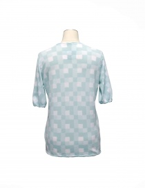 Cardigan Side Slope colore azzurro acquista online
