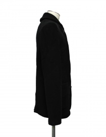 Label Under Construction Scarf Collar Recycled Knit jacket buy online
