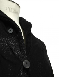 Label Under Construction Scarf Collar Recycled Knit jacket mens coats buy online