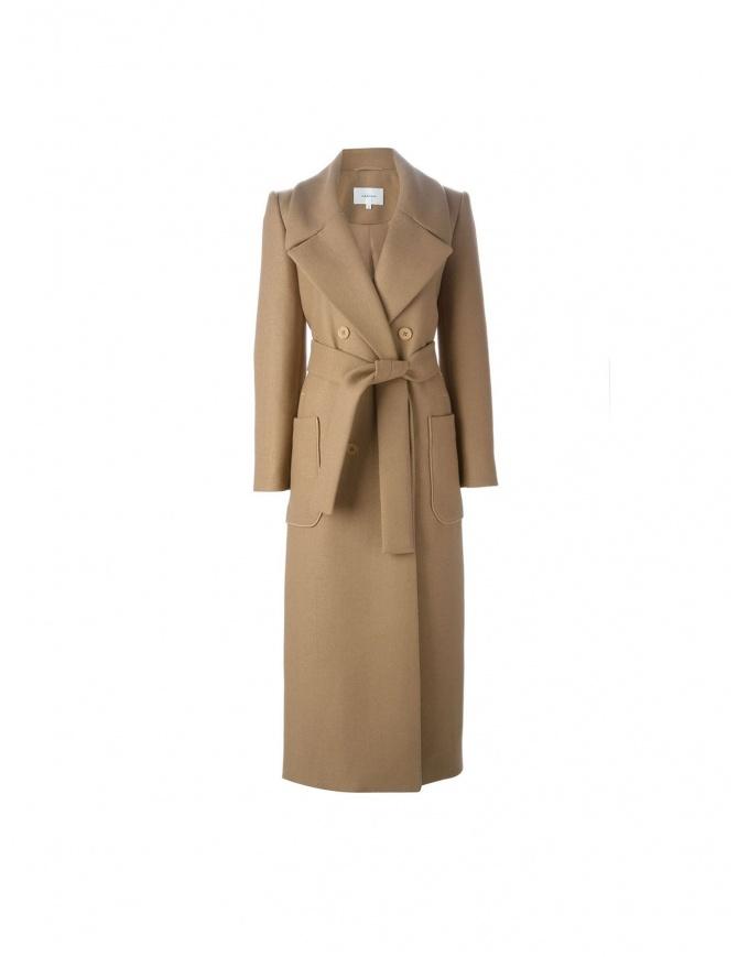 Cappotto Carven colore cammello 120M07-182 cappotti donna online shopping