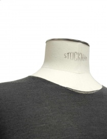 Label Under Construction Primary Elbow Patch grey sweater mens knitwear buy online