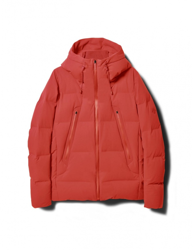 AllTerrain by Descente burnt red down jacket DIA3570U-BRED
