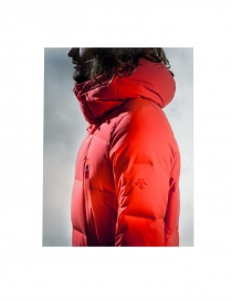 AllTerrain by Descente burnt red down jacket price