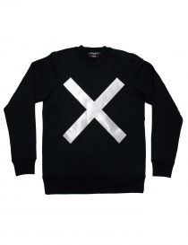 Mens knitwear online: Mastermind X A-Girl's black sweater