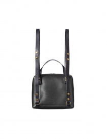 Backpack Bag Orla Kiely Black Leather price