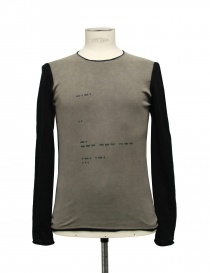 Maglia Label Under Construction Corroded Graphite Dyed 16YMTS141-019-4