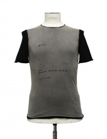 T-shirt Label Under Construction Signals beige nera online