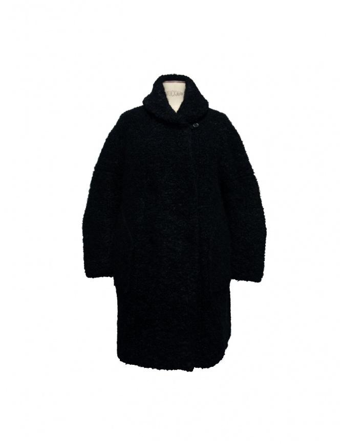 IL BY SAORI KOMATSU COAT 193-400 blk womens coats online shopping