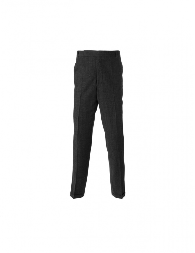 Carven black wool trousers 2450p90 999
