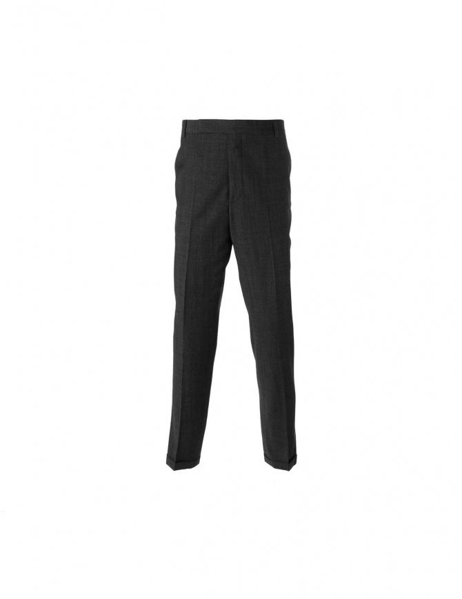 Pantalone carven nero in lana 2450p90 999 pantaloni uomo online shopping