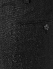 Carven black wool trousers