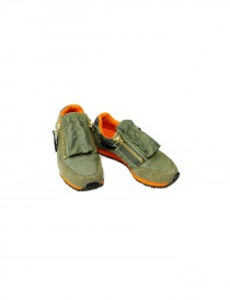 Sneakers Kapital Flight Jacket EK 486 SNEAKER KHAKI
