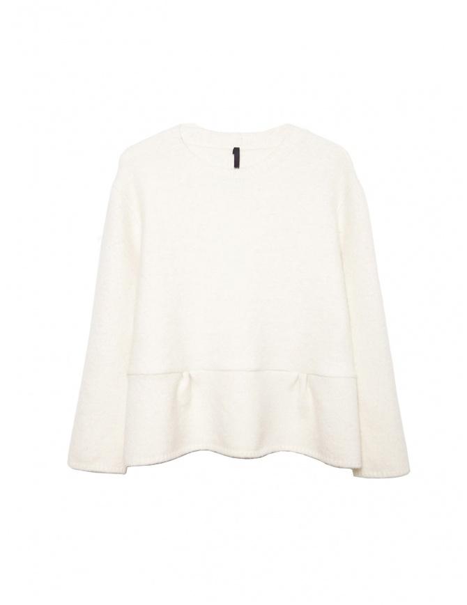 MAGLIA SARA LANZI 01I NV 01 WHITE maglieria donna online shopping