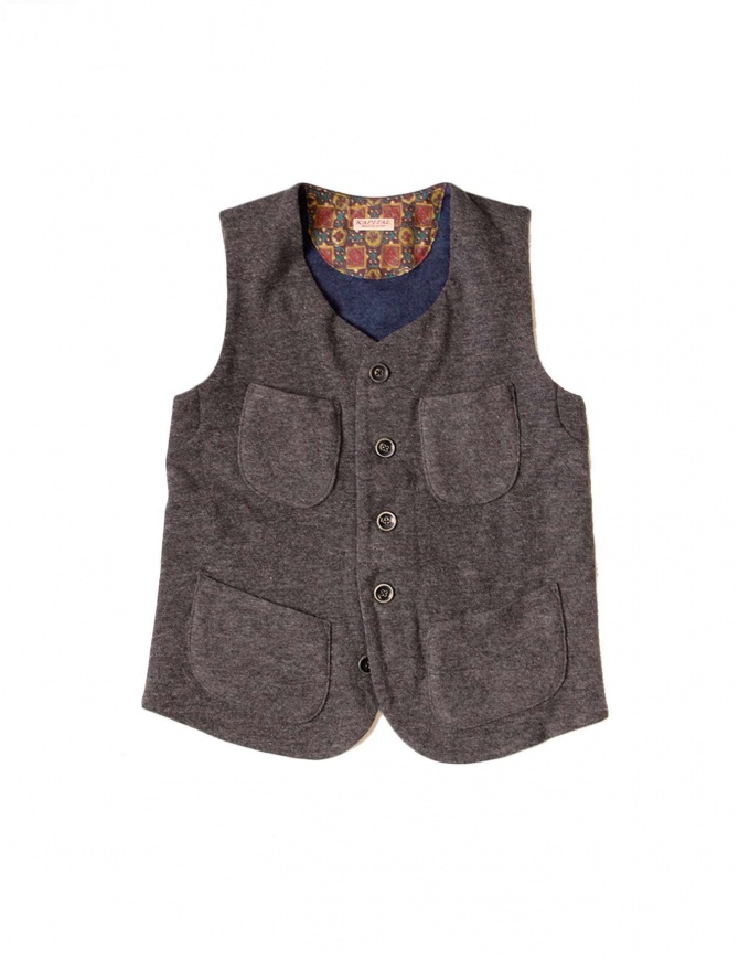 KAPITAL GILET brown k1510sj144 g womens vests online shopping