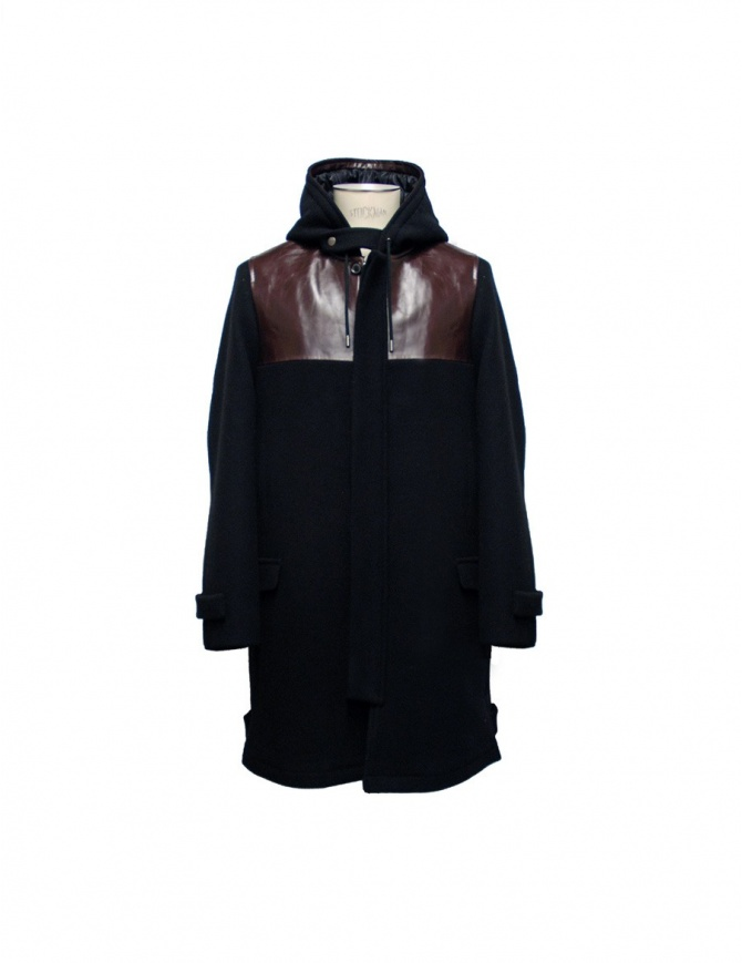 Cy Choi black coat CA57C08ARK00 mens coats online shopping